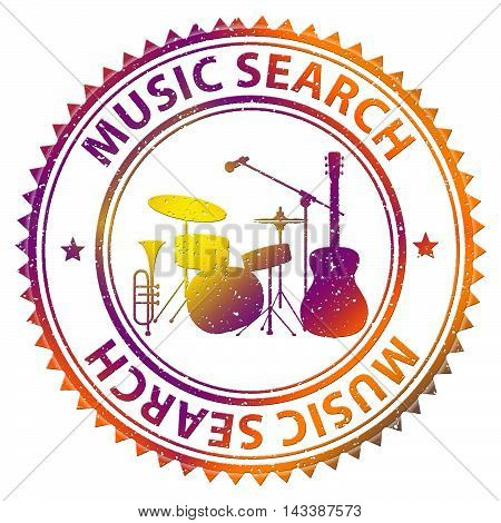 Music Search Means Searching Tracks And Soundtracks