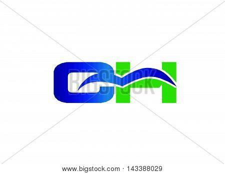 HC logo. HC company linked letter logo