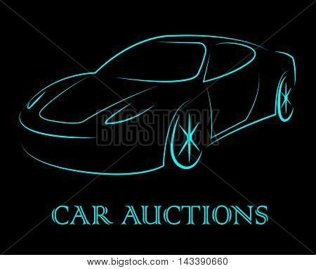 Car Auctions Means Bidding On Motor Vehicles