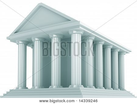 Ancient Financial building