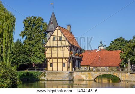 Gatehouse And Bridge Of The Steinfurt Castle