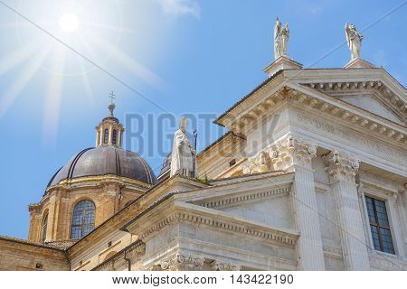City Cathedral in Urbino, Italy
