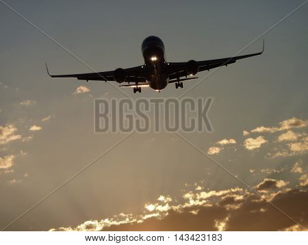 a beautiful image in detail a plane. an image with a clear and detailed scenery that inspires more deeply.