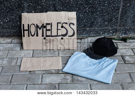 Cardboard for homeless