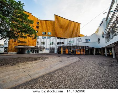 Berliner Philharmonie In Berlin (hdr)