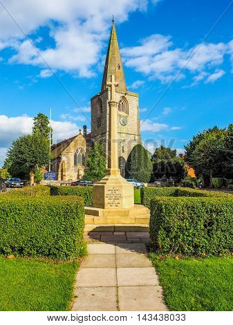 Village Green In Tanworth In Arden (hdr)