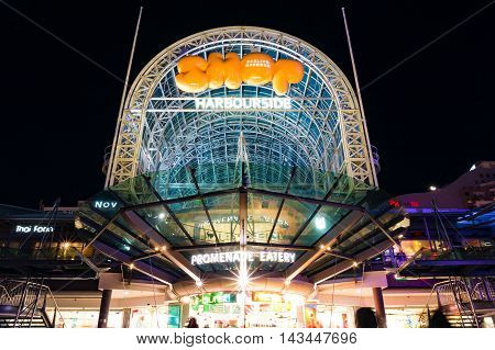 Sydney Darling Harbour Promenade Shops
