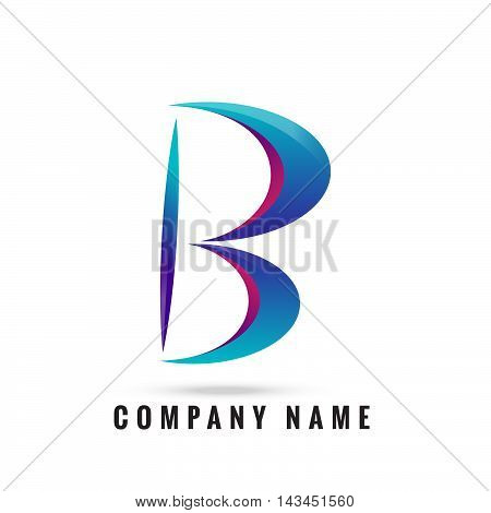 3d b letter logo 100% vector fully editable and resizable suitable for which letter is begining with letter j