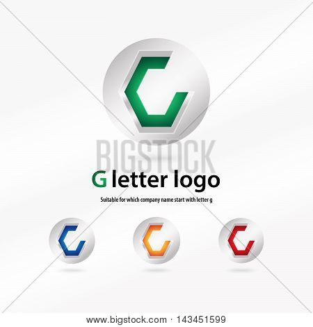 3d g letter logo 100% vector fully editable and resizable suitable for which letter is begining with letter g