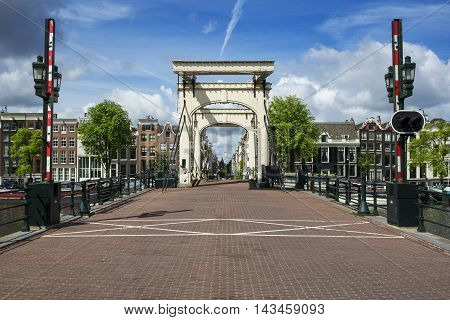 AMSTERDAM - JULY 6: The The Magere Brug (