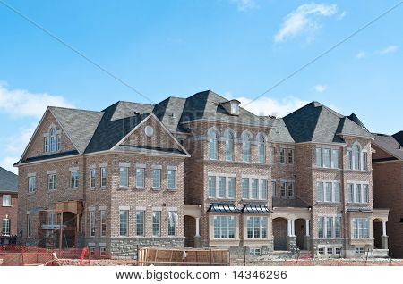 New Townhomes Under Construction