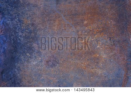 Texture of rusty metal for a higher background.