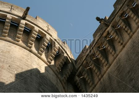 Tarascon - Crescent Moon And The Old Castle