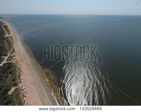 Top View Of The Sea Of Azov