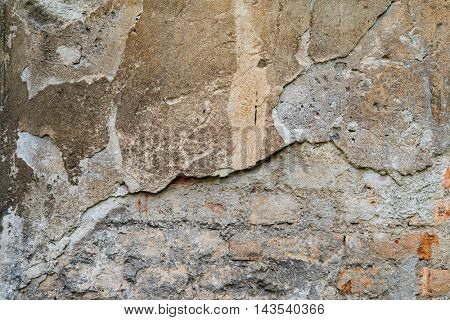 Decaying wall texture
