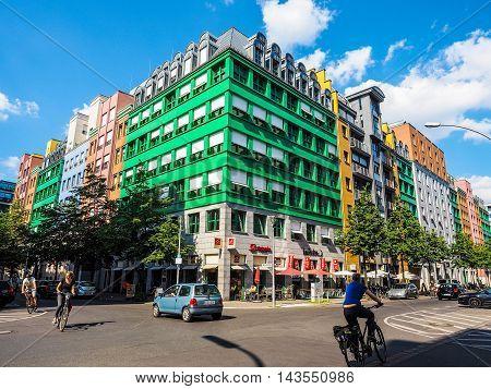 Quartier Schutzenstrasse In Berlin (hdr)