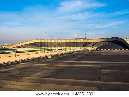 Lingotto Race Track In Turin (hdr)