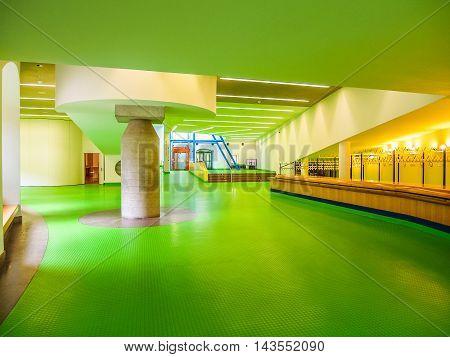 Neue Staatsgalerie In Stuttgart (hdr)