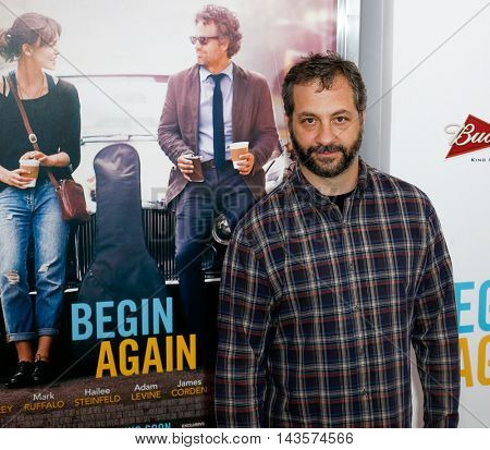 NEW YORK-JUNE 25: Producer Judd Apatow attends the New York premiere of Weinstein company's