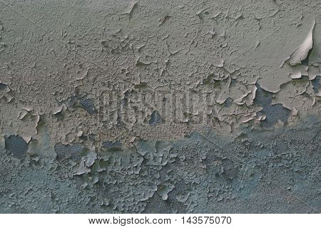 Texture of old paint on the wall