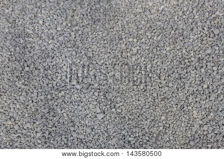 Texture of granite gravel. High resolution image of granite gravel in construction industry
