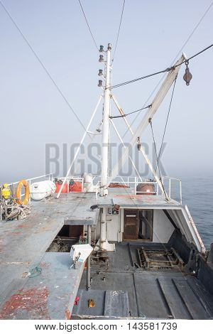 Front Of Fishing Trawler