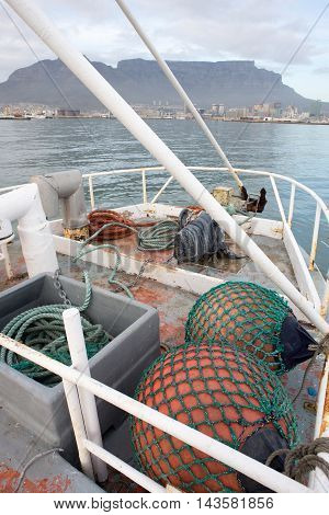 Fenders Of Fishing Trawler