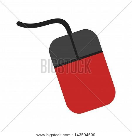 Mouse, computer, cursor icon vector image.Can also be used for networking. Suitable for mobile apps, web apps and print media.