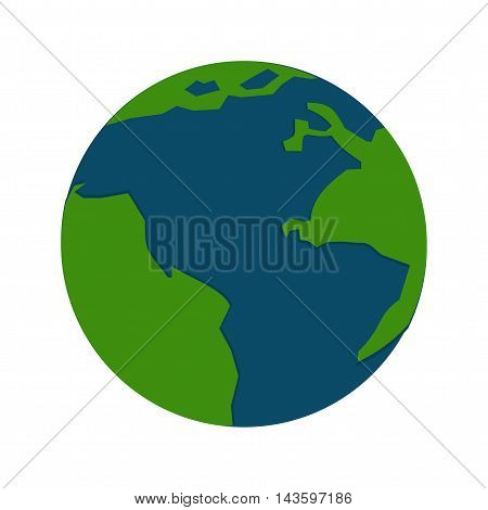 Globe, science, education icon vector image. Can also be used for networking. Suitable for use on web apps, mobile apps and print media.