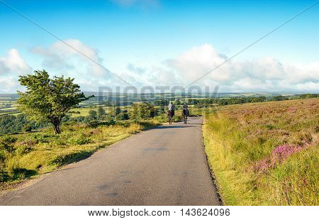 Riders On Dunkery Hill