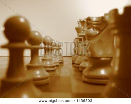 Chess-Sephia