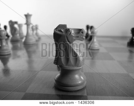 Chess, Black And White