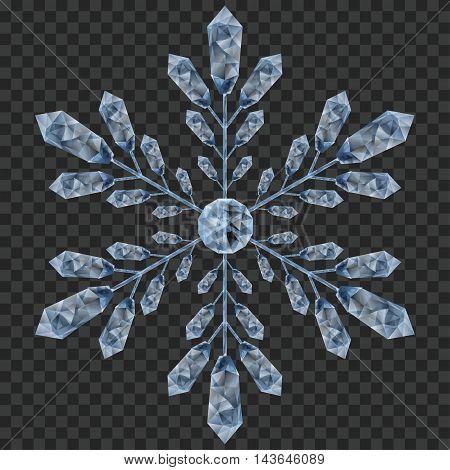 Big Crystal Snowflake