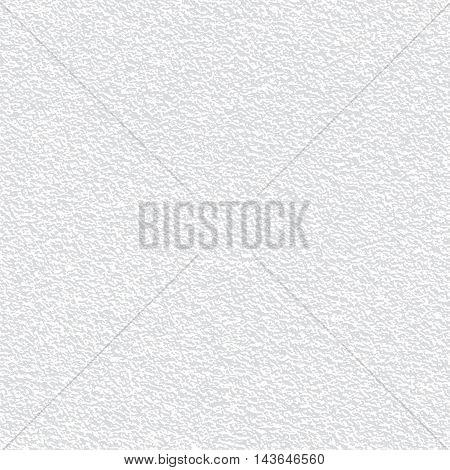 Stucco wall surface texture. Grained background. Vector seamless pattern