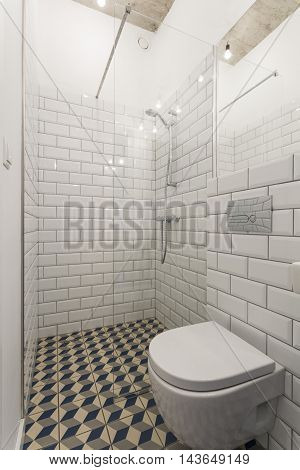 Clear Bathroom Design For Those Who Love Minimalism