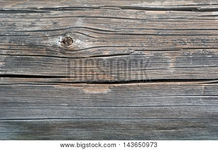 Gray Old Sawed Wood Log, Background