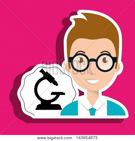 student laboratory tools vector illustration graphic eps 10