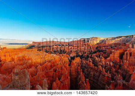 Amphitheater, Inspiration Point, Bryce Canyon National Park, Utah, Usa
