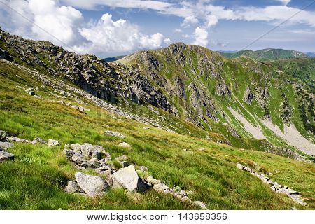 Landscape at Low Tatras mountains at Slovakia