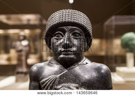 Statue Of Gudea From Mesopotamia