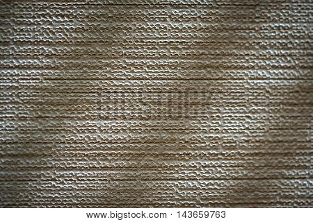 plastic damaged background with diagonal shadows close up