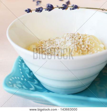 Yogurt With Oat Bran