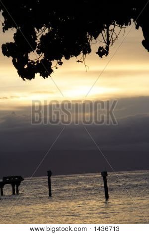 Lahaina At Sunset