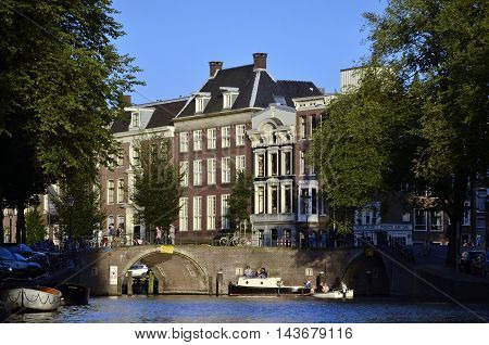 Herengracht Afternoon