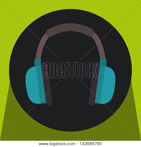 cover ears protection icon vector illustration design