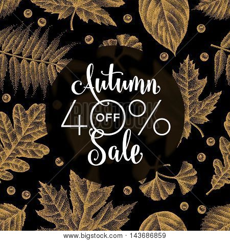 Etching Leaves Sale_04.eps