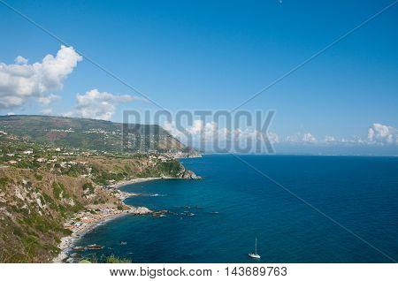 the beautiful beach of
