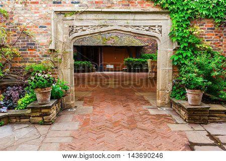 Kensington Roof Gardens In London, Uk