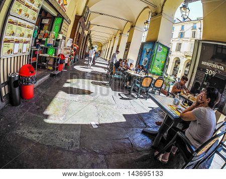 Via Po In Turin (hdr)