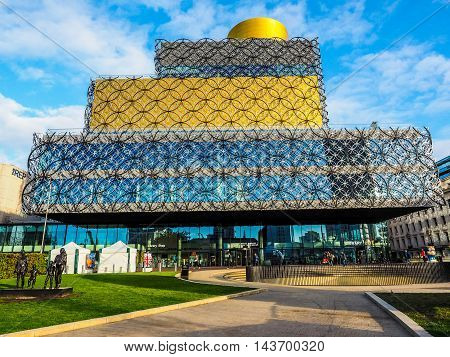 Library Of Birmingham (hdr)